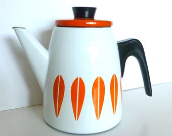Mint Cathrineholm Coffee Pot