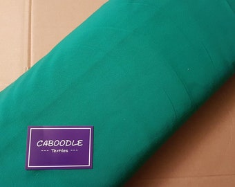 Emerald Green, Cotton Lycra Jersey Knit Fabric