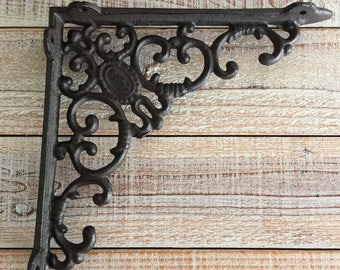 Cast Iron Bracket, Shelf Brackets, Bracket , Brackets , Sold Individually