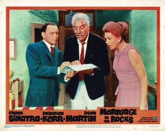 Marriage On The Rocks  - 1965 - Original US lobby card  # 3