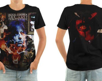 ALICE COOPER the last temptation shirt all sizes