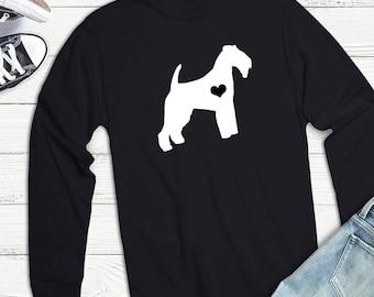Unisex Welsh Terrier long sleeve T-SHIRT