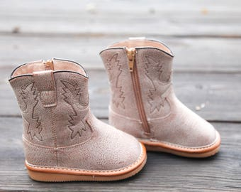 Light Brown Squeaky Boots