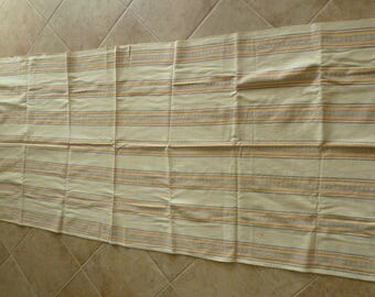 Large hand-woven tablecloth from Guatemala