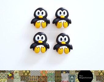 Penguin Fridge Magnet Set