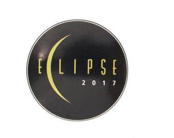 "2017 Total Solar Eclipse Totality Sun Moon Nasa Space Commemorative 4"" Sticker"