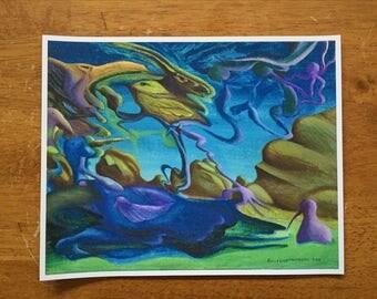 Birdsssss - Fine Art Print by EmJae Lightningbug
