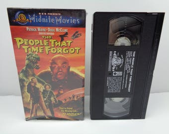 The People That Time Forgot Patrick Wayne VHS
