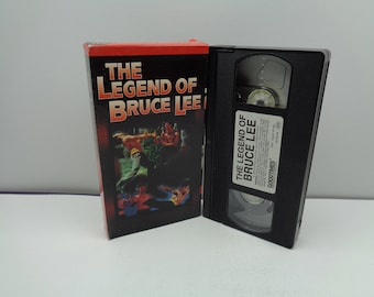 The Legend of Bruce Lee VHS