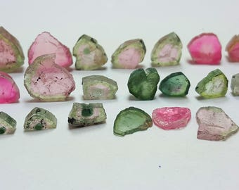 WOW 51.60 Carats Beautiful Watermelon Tourmaline Slices@Afghanistan  35