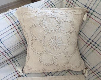 Natural Decorative Pillow Cover throw pillows 16x16