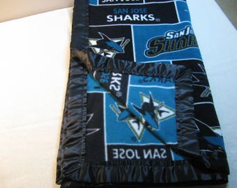 Soft Fleece Blanket - San Jose Sharks