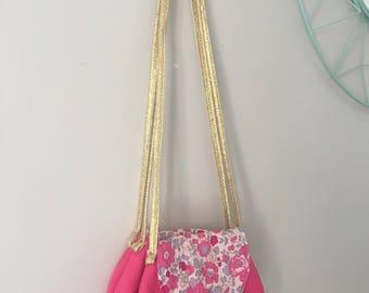 Liberty bougainvillea girl Messenger bag
