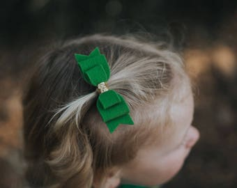 St. Patrick's Day Bows - Photo Props