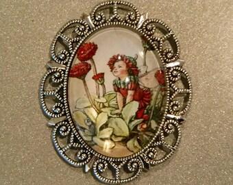 Fairy, Refrigerator Magnet, Kitchen Magnet, Fridge Magnets, Gift Magnet, Handmade, Memo Magnet, Large Magnet, Kitchen Decor, Cabochon