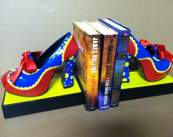 One of a kind, hand made Bookends, Object d'Art