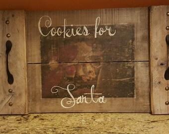 Cookies for Santa tray