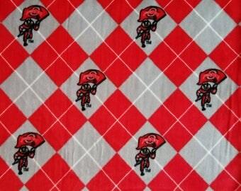 Ohio State Buckeyes No-Sew Blanket
