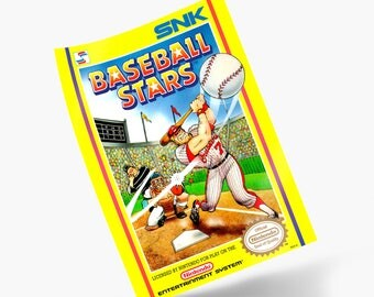 Baseball Stars NES Print