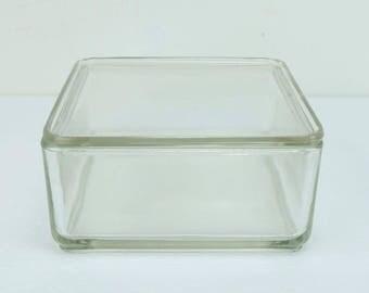 """wilhelm wagenfeld cube big """"Kubus"""" box vlg weisswasser"""