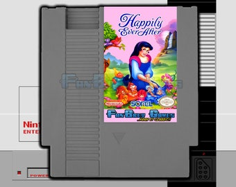 """SPECIAL ORDER! """"Happily Ever After"""" Unreleased Nintendo NES Action Platformer Snow White!"""