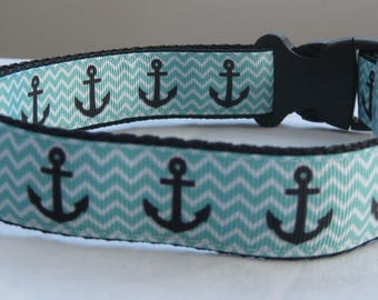 Anchor collar matching lead available green maritime