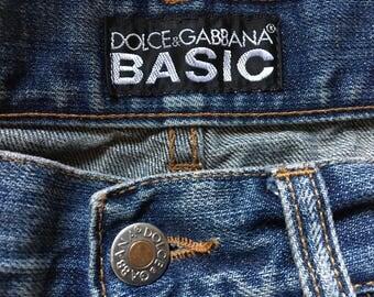 Vintage Dolce and Gabbana Boyfriend Jeans