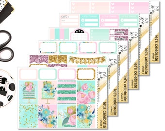 Let's Celebrate Kit II Perfect For The Erin Condren Life Planner II