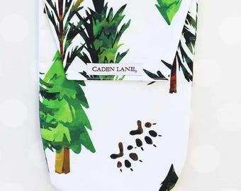 Woodland Trees | Watercolor Woodland Trees Diaper and Wipe Holder | Forrest Gender Neutral Baby Shower | Woodland Animal Baby Shower Gift