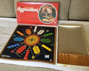 1977 Aggrivation Game, Lakeside Board Game, Complete