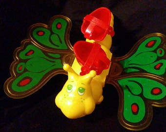 "Vintage 1982 Strawberry SHORTCAKE Butterfly ""Flitterbit""!!!"
