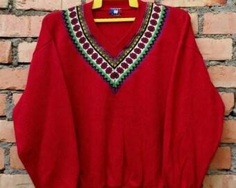 OFF 15% Rare!!! BLVD  CRAZY Nice Design Sweatshirt Pullover