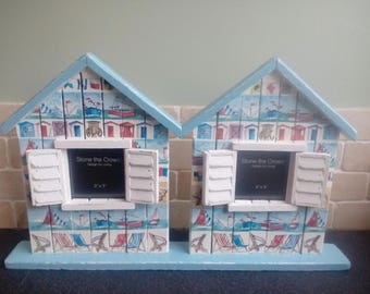 Shabby Chic 'Nautical Beach' Picture Frame