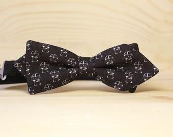 Darth Vader Bow tie - Bowtie star wars diamond shape style