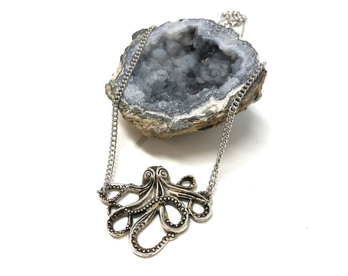 TENTACLES: octopus necklace