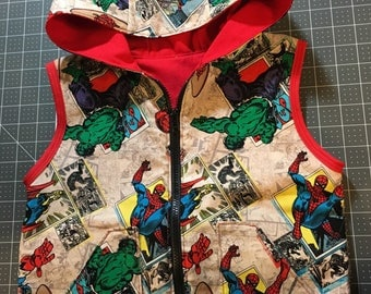 Weighted Vest Custom made with hood for children with sensory needs (check size for actual pricing)