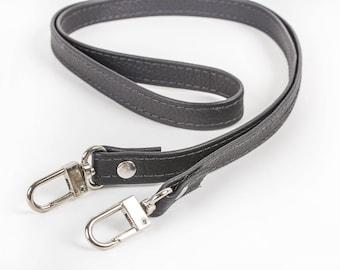 Leather purse straps | Etsy