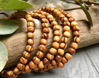 Bethlehem olive wood bracelet