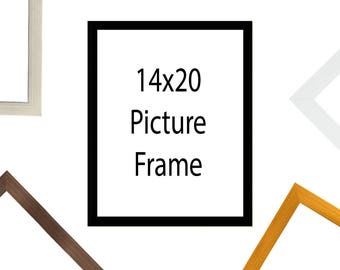 14x20 Inch Mat 11x17 Inch Single Opening Image Chocolate