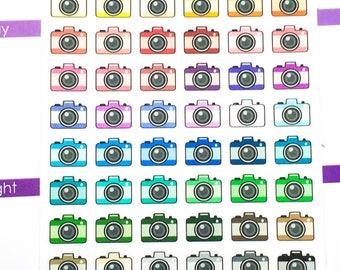 Rainbow Icon - camera Stickers | Planner Sticker, functional sticker, camera sticker, picture sticker, social media sticker