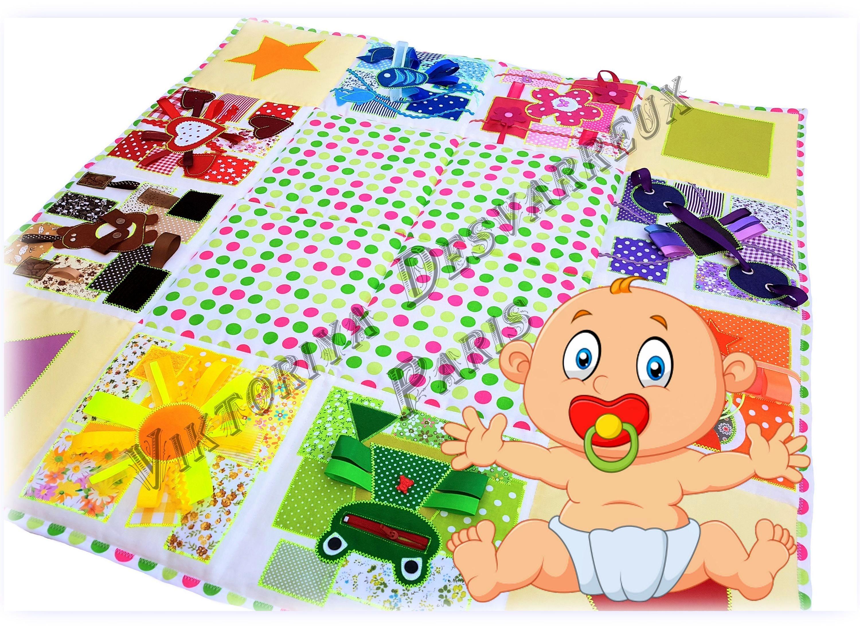 Baby play mat Outdoors t Sensory Playmat Baby Activity
