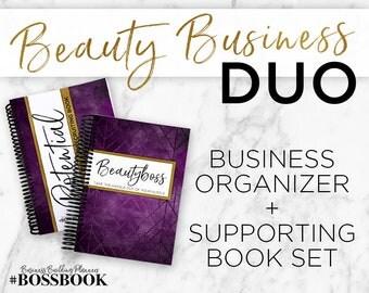 5% off!  BEAUTYBOSS Business Organizer & Supporting Book for Makeup / Beauty Presenters