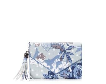 Small wallet women cards, Oilcloth pocket wallet, Compact purse, polka dot, mini vegan purse, Travel card wallet, Ladies Teenage girl purse