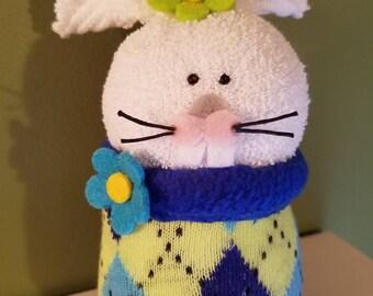 Stuffed Sock Bunny