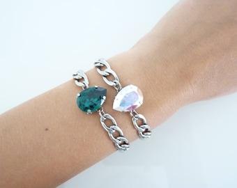 Essential Pear Drop Bracelets