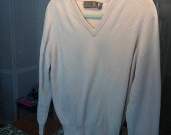 Vintage cashmere men's sweater