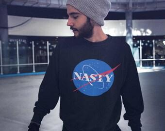 Nasty Sweatshirt Nasa Unisex Womens Mens Sweater