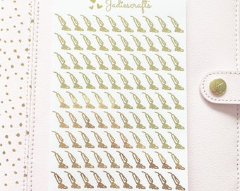 Foil Hoover/Vacuum Stickers | Planner Stickers