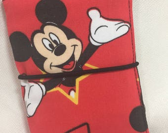 Credit Card Wallet/Holder: Disney/Mickey Mouse Red Theme