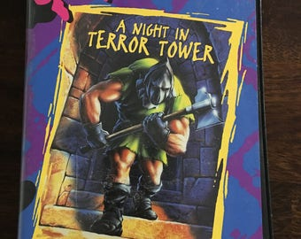 Goosebumps A Night In Terror Tower VHS